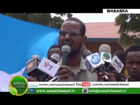 Mudaaharaad looga soo horjeedo Somaliland oo  ka dhacay Buuhoodle 17 07 2014
