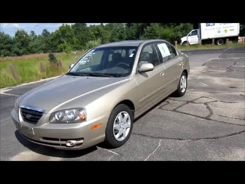 2006 Hyundai Elantra GLS Start Up, Engine & In Depth Tour