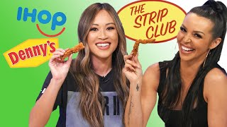 IHOP Vs. Denny's Chicken Strip Taste Test | The Strip Club | Yahoo! Lifestyle