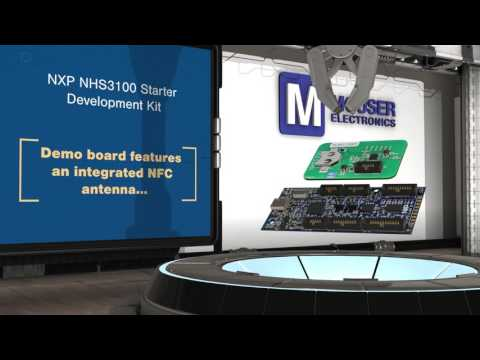 NXP Semiconductor NHS3100 Starter Development Kit | New Product Brief