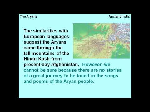 The Aryans and the Vedic Age - a reading lesson for kids