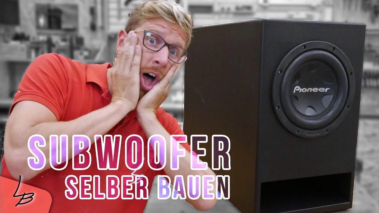 Super 1 Krasser XXL Subwoofer selbstbau | Der reißt das Haus ab! | Lets QC02