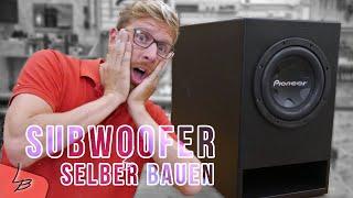 Krasser Subwoofer selbstbau | Der reißt das Haus ab! #1