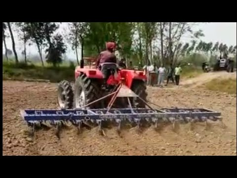 massey 241 (42hp) with 21 Cultivater ।। Great Power Show