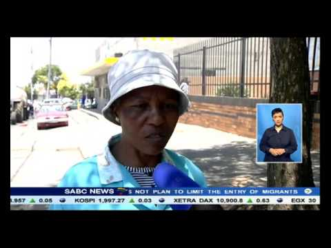 Some relief for water-starved Johannesburg residents