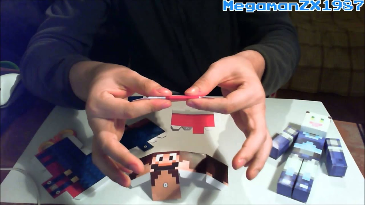 Papercraft Papercraft with Minecraft EP 1