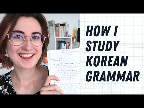 my-korean-grammar-study-method-|-한국어-문법-공부법