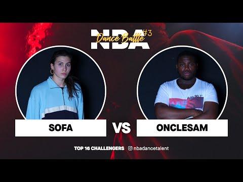 NBA Dance Battle #3 | TOP 16 CHALLENGERS | Sofa Vs Oncle Sam