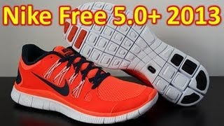 Nike Free 5.0+ 2013 Total Crimson