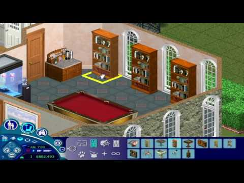 The Sims 1-  Furnishing a Mansion