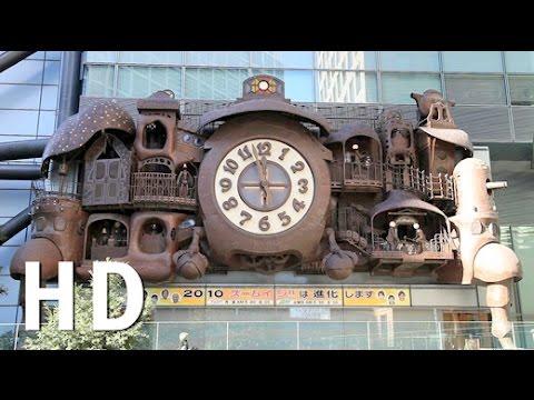 Horloge Nittere Ohdokei - Ghibli clock HD