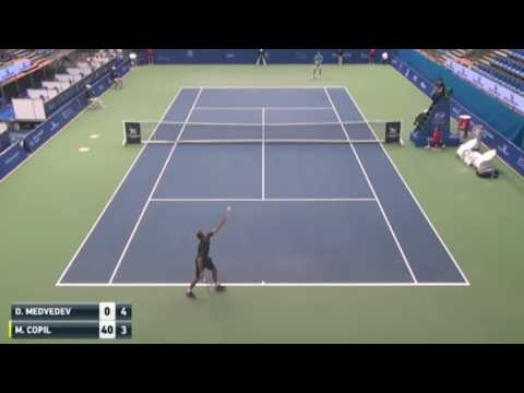 Marius Copil vs Daniil Medvedev Highlights Budapest 2016