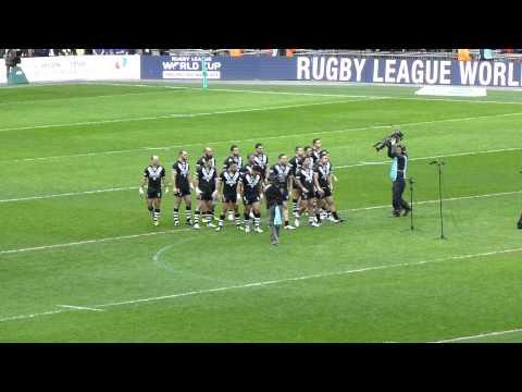 New Zealand Haka versus England