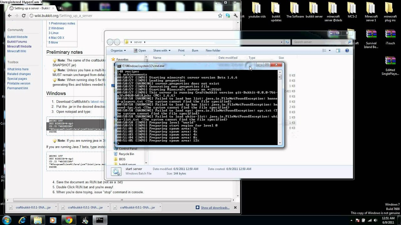 minecraft server 1 5 3