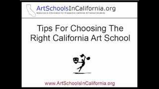 Art Schools In California - How To Choose The Best California Art School