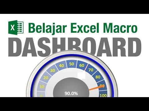 Belajar Excel Macro Mengenal Dashboard