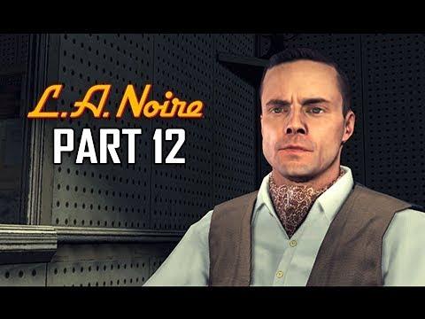 LA NOIRE Gameplay Walkthrough Part 12 - The Studio Secretary Murder (5 STAR Remaster Let's Play)