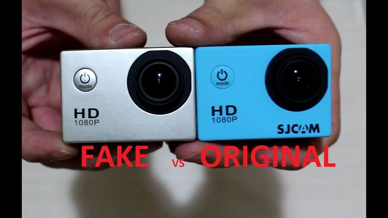 Sahte SJ4000 vs Orjinal SJCAM SJ4000  YouTube
