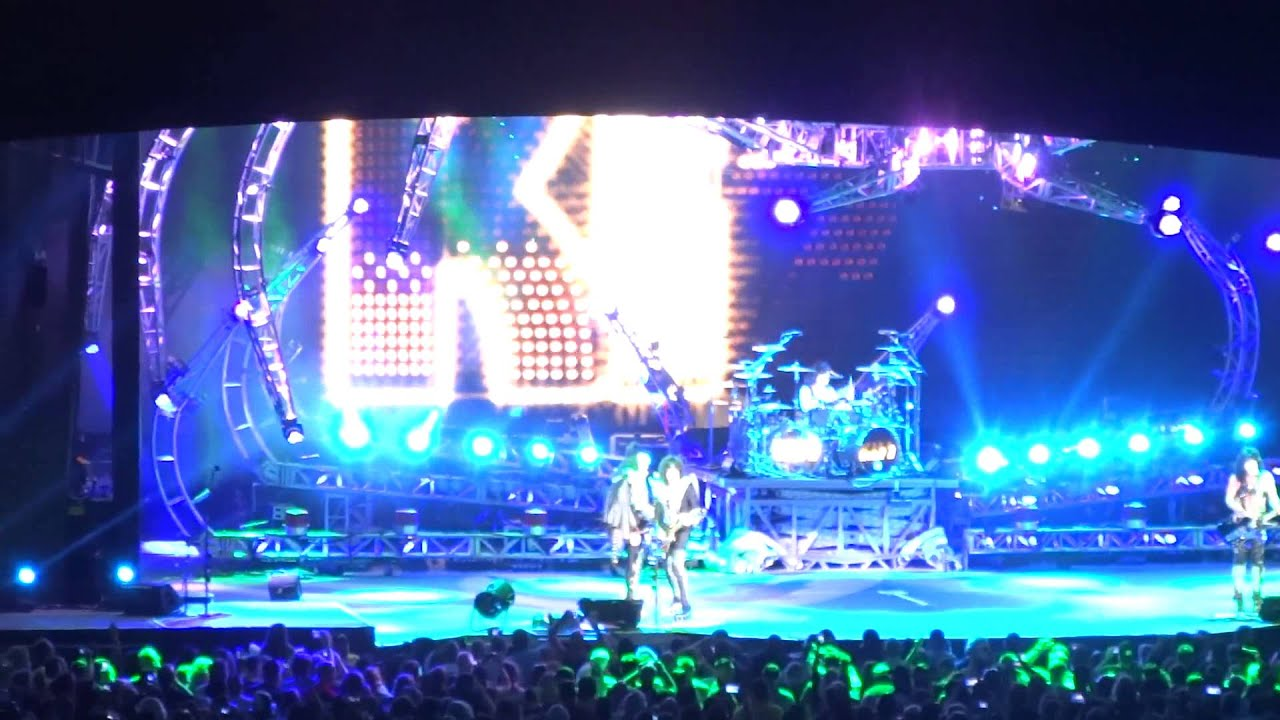 Marvelous Kiss Scranton Toyota Pavilion At Montage Mountain Aug 9 2014 Icarus    YouTube