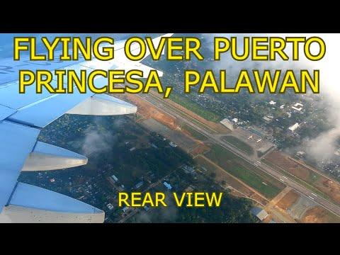 Takeoff from Puerto Princesa airport, Palawan