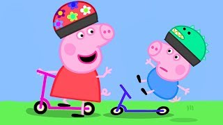 Peppa Pig Official Channel | George Learns How to Scooter from Peppa Pig