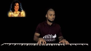 Michael Jackson - Remember The Time - Solo Piano