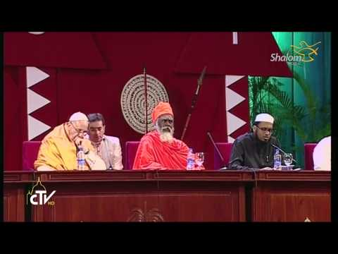 Sri Lanka-Interreligious Meeting at Bandaranaike Memorial Hall