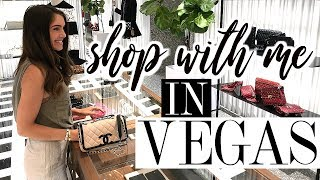 VEGAS VLOG | COME SHOPPING WITH ME!
