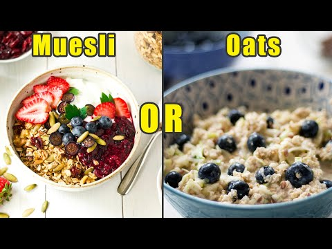 Muesli Or Oats: Which Is Better For Weight Loss? | Boldsky