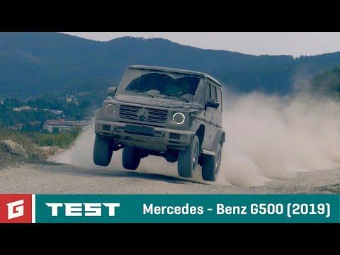Mercedes Benz MB G500 (2019) - TEST - GARAZ.TV - Rasťo Chvála