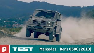Mercedes Benz MB G500 (2019) - NEW ENG SUB !!! - TEST - GARAZ.TV - Rasťo Chvála