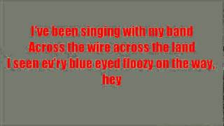 Glee Fat Bottomed Girls with lyrics