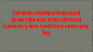 Glee Fat Bottomed Girls with lyrics