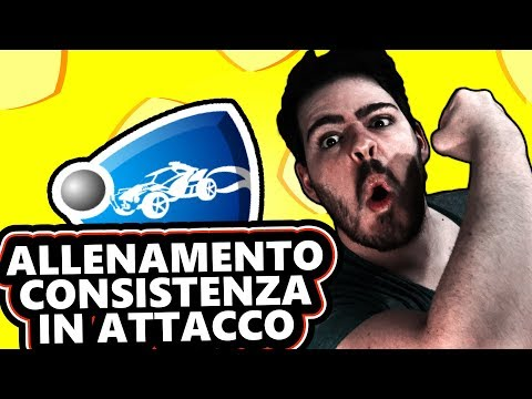 ALLENAMENTO: CONSISTENZA IN ATTACCO - Rocket League ITA Tutorial thumbnail