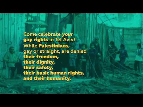 Celebrate Gay Rights While Palestinians Are Denied Basic Rights - Boycott Tel Aviv Pride