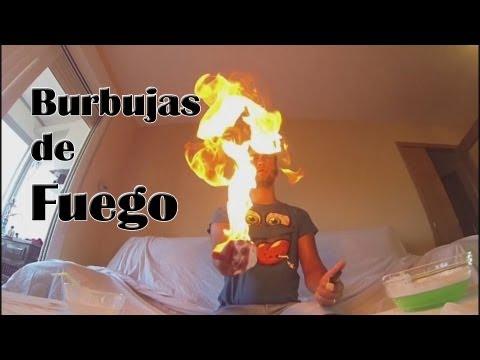 Burbujas de fuego (Experimentos Caseros)