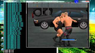 smackdown vs raw 2011 pc gameplay (pcxs2 0.9.6)