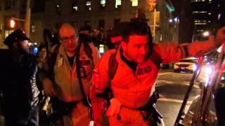 Ghostbusters Ecto-1 in New York City - (Part 2 of 2) - Halloween 2015