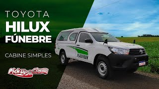 Toyota Hilux Fúnebre Cabine Simples - Pickup&Cia