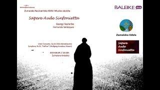 SAS: Mendelssohn & Mozart