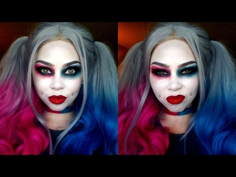 INJUSTICE 2 Harley Quinn Cosplay Makeup