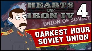 PUSHING INTO POLAND! Hearts of Iron 4 Darkest Hour Soviet Union Campaign Part 4