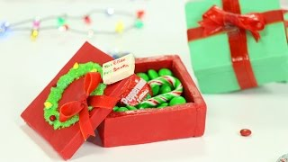 COOKIE Candy Box - NO BAKE Chocolate Cookie Gift Boxes - Edible Gifting Recipe