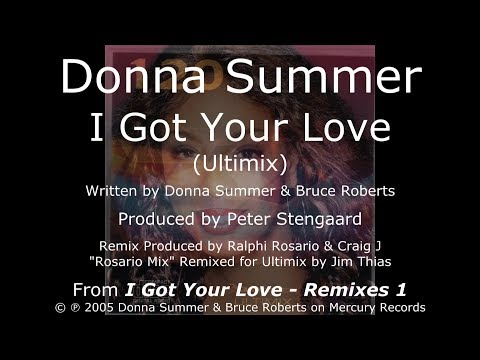 Donna Summer - I Got Your Love (Ultimix) LYRICS - HQ 2005