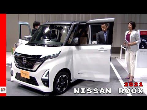 New 2021 Nissan Roox Mini Kei Car