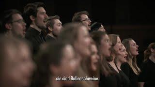 "Polizistenhass: Chor-Experiment zur Reportage ""Fick die Cops"" | STRG_F Extra"