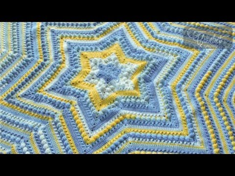 How to Crochet Hugs & Kisses Starshine Blanket