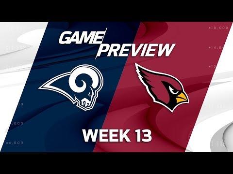 Los Angeles Rams vs. Arizona Cardinals   NFL Week 13 Game Preview   NFL Playbook