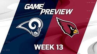 Los Angeles Rams vs. Arizona Cardinals | NFL Week 13 Game Preview | NFL Playbook