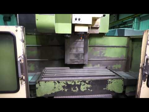 Mori Seiki MV3540 Machining Centre   Lot 100